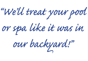 Pool & Spa Repair_We treat your pool like it was in our backyard